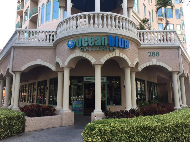 Ocean Blue Galleries Art Gallery St. Petersburg Tampa Bay Area