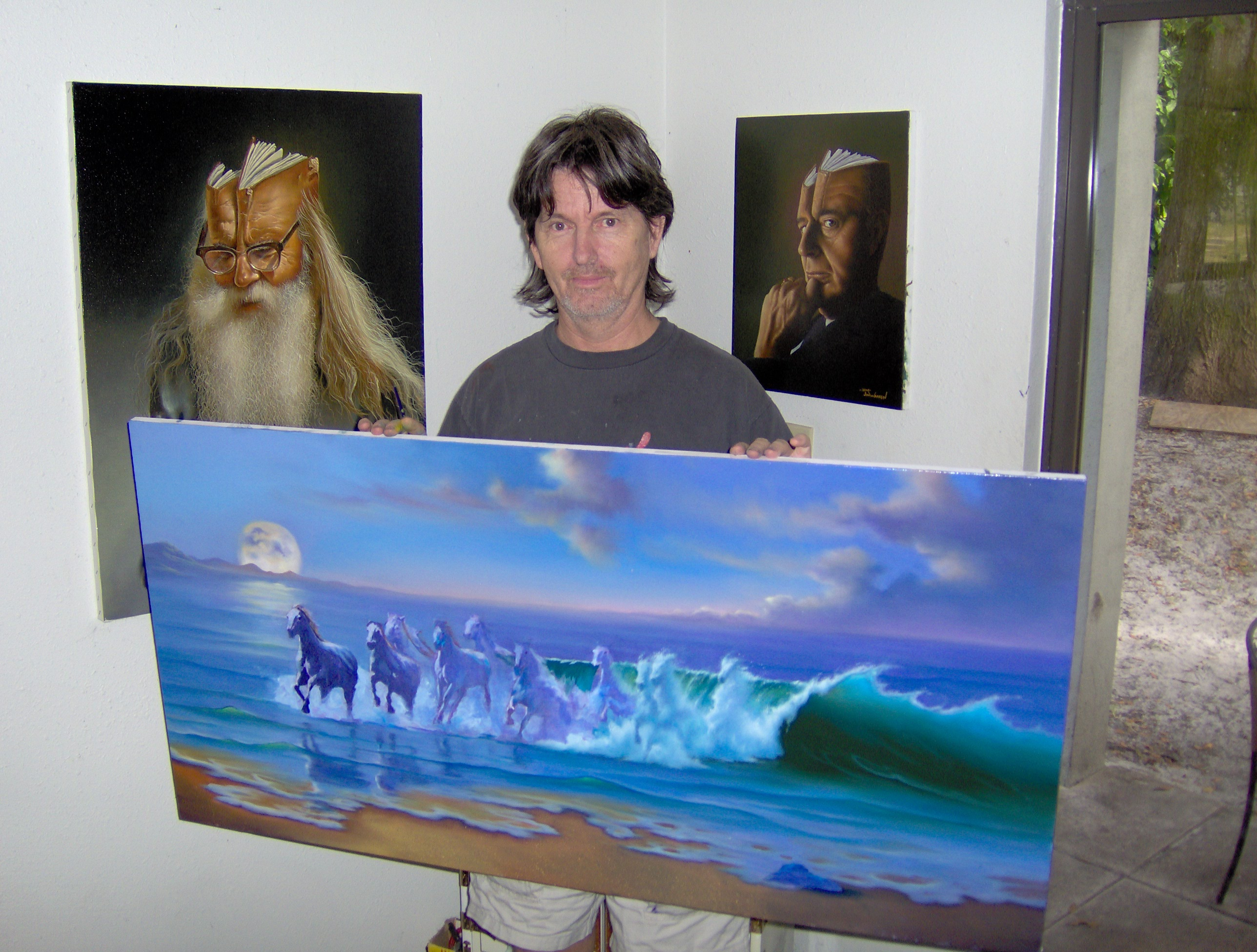 Jim Warren at Wyland Gallery Sarasota