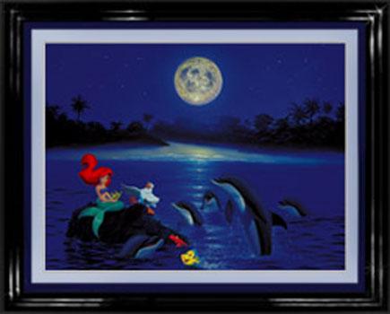 Wyland Arial's Dolphin Serenade - Wyland Gallery Sarasota