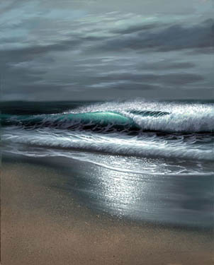 Walfriod Garcia Art Coastal Grey at Wyland Gallery Sarasota
