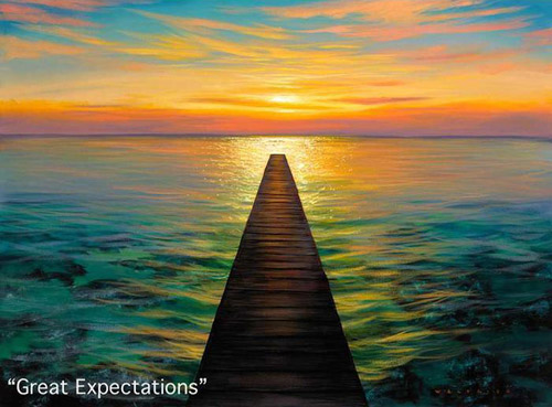 Walfrido Garcia Art Great Expectations at Wyland Gallery Sarasota
