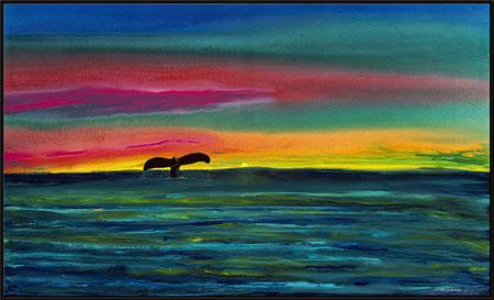 Wyland Green Flash Rising - Wyland Gallery Sarasota