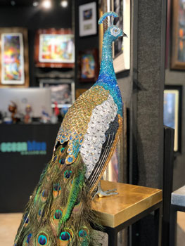 Clarita Brinkerhoff Swarovsky Art - Wyland Gallery Sarasota