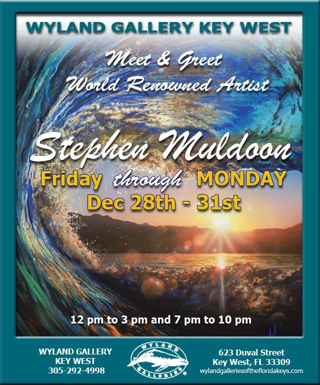 Steven Muldoon at Wyland Key West