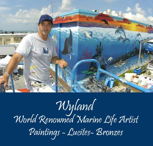 Wyland Marine Life Artist - Wyland Gallery Sarasota