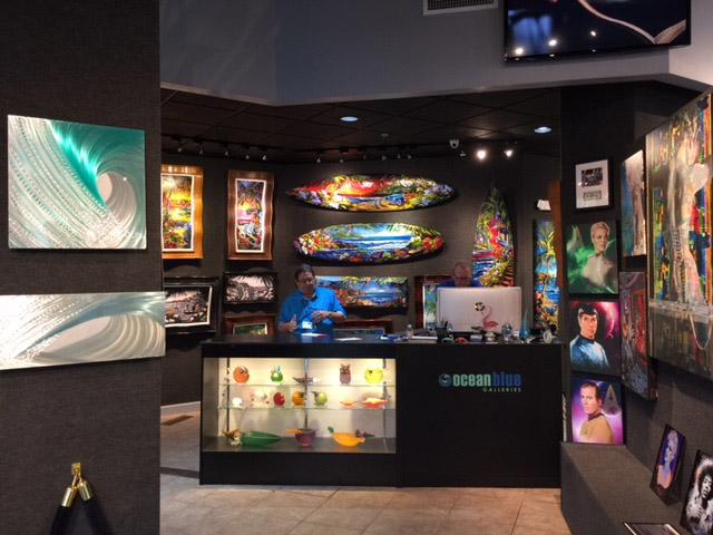 Ocean Blue Galleries - Art Gallery St. Petersburg Inside Photo