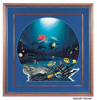Wyland Ariel's Ocean Ride Giclee - Wyland Gallery Sarasota