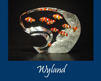 Wyland Lucite Art - Wyland Gallery Sarasota
