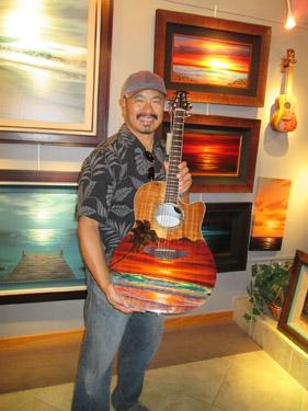 Walfriod Garcia Art at Wyland Gallery Sarasota