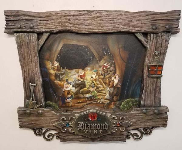 Mining with Dwarfs by Krystiano DaCosta Wyland Gallery Sarasota