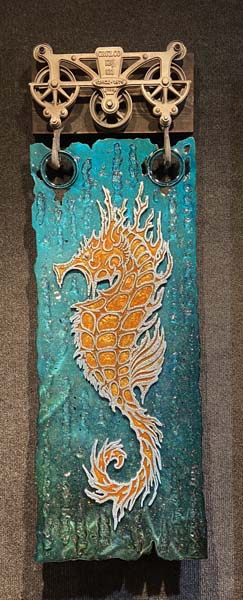 SEA HORSE by Krystiano DaCosta Wyland Gallery Sarasota